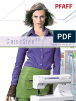 5865690-Pfaff Classic Style 1525 Sewing Machine Manual