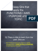 Using Functions in GP Essay
