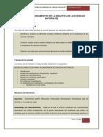 UNIDAD 1 Fundamentos de La Didactica de Las Cn