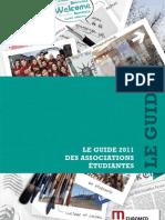 Guide des Associations Etudiantes Euromed Management 2011
