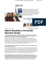 Entrevista a Albert Boadella y Fernando Sánchez Dragó