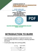 Burr Formation
