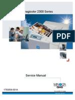 Minolta MagiColor 2300 service manual