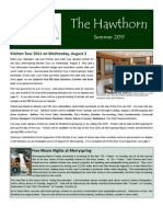 2011 Summer Newsletter