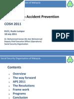 Cosh2011 Day 2 Dr Azman Socso