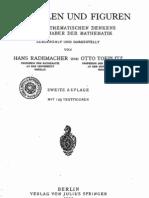 Rademacher-Toeplitz,Von Zahlen und Figuren (1933)