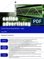 Online Advertising Market India Sample