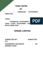 Fsa Term Paper of Gagan