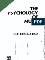 Rao, Psychology of Music