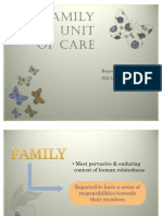 The Family as a Unit of Care Version 2007