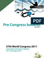 Pre Congress Booklet Hatyai