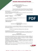 Código de Derecho Internacional Privado
