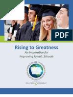 Iowa Rising to Greatness 082111