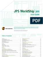 Worldship User Guide
