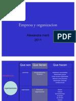Empresa y organizacíon