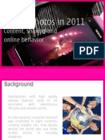 Mobile Photos in 2011 (Content, Sharing, And Online Behavior) - Philippines