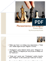 Planeamiento Estrategico (Primera Sesion) (1)