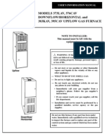 Furnace - Bryant Plus 80 Users Manual