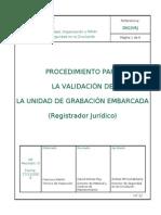 31 SGSC-VRJ Validación Registradores Jurídicos R0 17-11-2010