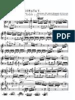 Mozart [kv 279] sonata nº 5