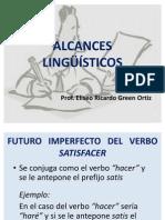 ALCANCES LINGSTICOS