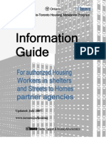 Canada-Ontario-Toronto Housing Allowance Program Information Guide Updated