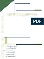 Artificial Airways Agk