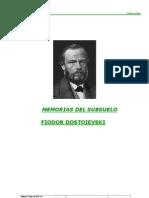 Memorias Del Subsuelo Dostoievski