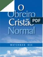7681346 o Obreiro Cristao Normal Watchman Nee