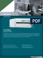 Printer Sony Upd75md