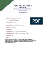 Sentencia STS 10-03-2009 Reglamento Numeracion Cmt Contra Mityc ES01000215