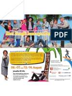 Theatergruppe des Heimatvereins Darme e.V. - Flyer 2011