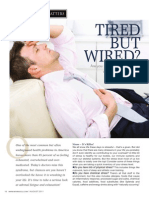 """TIRED BUT WIRED?"" - Are you suffering from Adrenal Fatigue?"