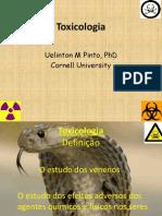 Aula introdutória - Toxicologia de Alimentos