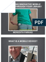 Delivering Innovative Mobile Services through Your Library Part 1