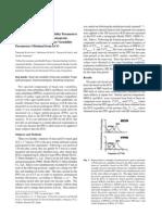 Accuracy of PPG Versu ECG HRV Parameters