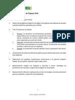 propuesta tecnica de diseño de pagina web