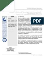 INDICADORES BÁSICOS DE TECNOLOGÍAS DE LA INFORMACIÓN Y LA COMUNICACIÓN. AÑO 2010.
