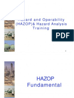 Hazard and Operability (HAZOP) & Hazard Analysis Training