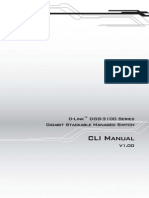 DGS-3100 Series CLI Manual v1.00