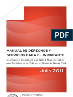 Immigrants Rights Manual - Spanish Translation