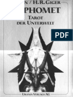 Astrology - Baphomet Tarot by H.R. Giger