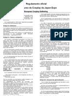 Regulamento Preliminar ECG