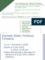 Seven Essential Board Slides v050811