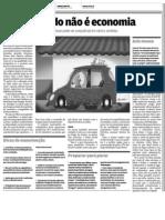 Carro Parado Nao e Economia