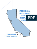 California Penal Code - Bail Relevant