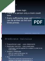 Quantifiers & Predicates