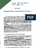 Ricardi, L'interpretazione del Sacro nell'opera di Eliade_II