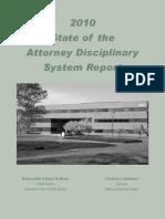 Attorney Disciplinary Report
