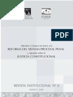 """Libro """"Reforma del sistema procesal penal"""" AMAG 2008"""